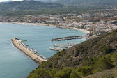 Views of Javea town — Stock Photo