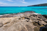 Es Calo coastline in Formentera island — Stock Photo