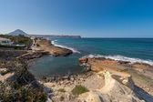 Cala Blanca and Javea coastline — Stock Photo