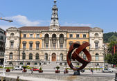 Bilbao townhall — Stock Photo