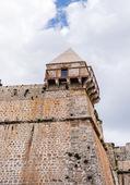 Ibiza miasto ściany, baleary, hiszpania — Zdjęcie stockowe
