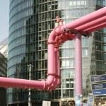 Pipelines in Potsdamer Platz — Stock Photo #12886413