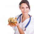 Royalty-Free Stock Photo: Doctor & Piggy