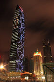 Night city of shenzhen,china — Stock Photo