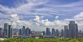 Vista do centro civil de shenzhen, china — Foto Stock