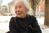 Chinese Village older — Stock Photo