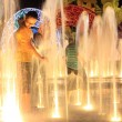 Childrens at Fountains — Stock Photo