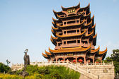Yellow Crane Tower, Wuhan,china — Stock Photo