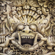 Bali carving — Stock Photo