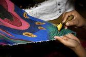 Batik clothing — Stock Photo