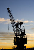 Crane industrail — Stock Photo
