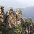 Stock Photo: Blue mountains