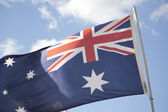 Aussie flag — Stock Photo