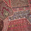 Saris patchwork — Stock Photo #16942471