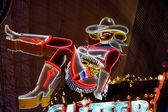 Las Vegas cowgirl — Stock Photo