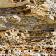 Rock strata geology — Stock Photo