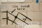 Graffitti sydney — Stock Photo