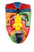 Gezicht masker aardewerk — Stockfoto