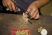 Jewellery making — Stock Photo