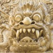 Stock Photo: Stone carving bali