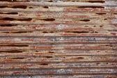 Fundo de folha de metal — Fotografia Stock