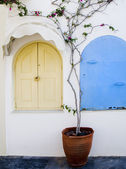Santorini building greece — Foto Stock