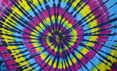 Tie dye hippy pattern — Stock Photo