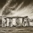 Royalty-Free Stock Photo: Dramatic stonehenge