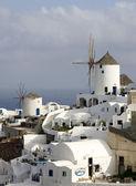 Santorini scene Greece — Stock Photo