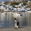 Mykonos scene — Stock Photo