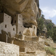 Mesa verde cliff houses — Stock Photo