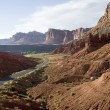Canyon lands USA near Moab — Stock Photo