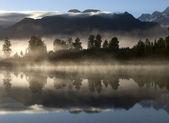 Lake Mathison New Zealand — Stock Photo