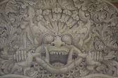 Bali carving — Stock Photo