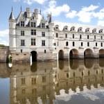 Château-de-chenonceau coté loire vallley — Stock Photo