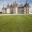 Loire valley chateau de chambord — Stock Photo