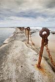 Playa de newcastle — Foto de Stock