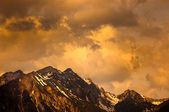 Alpes moody — Foto de Stock