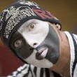 Mime artist — Stock Photo