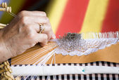 European lacework — Stock Photo