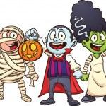 Halloween kids — Stock Vector #12066296