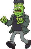 Frankenstein monster — Stock Vector