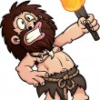 Cartoon caveman - Vettoriali Stock 
