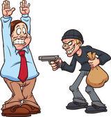 Robbery — Stock Vector