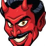 Дьявол головы — Cтоковый вектор