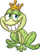Frog prince — Stock Vector