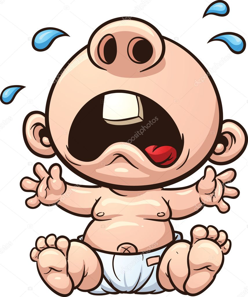 Cartoon Images of Crying Babies Cartoon Baby Crying