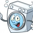 Washing machine — Imagen vectorial