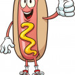Cartoon hotdog — Stock Vector #17613497