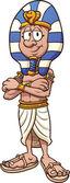 Cartoon pharaoh — Stock Vector